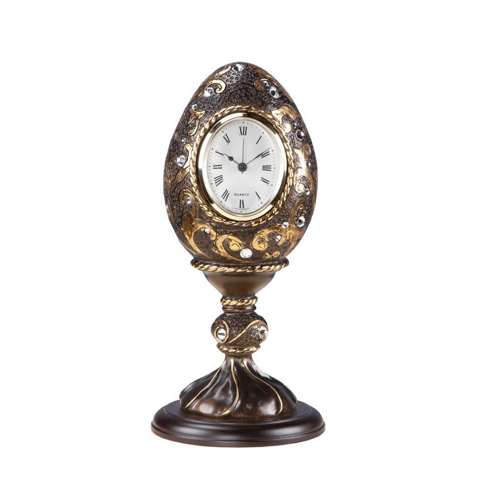 Часы настольные Наследие Фаберже Бронза