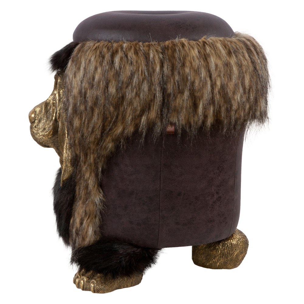 Банкетка Собака BASSET Шоколад