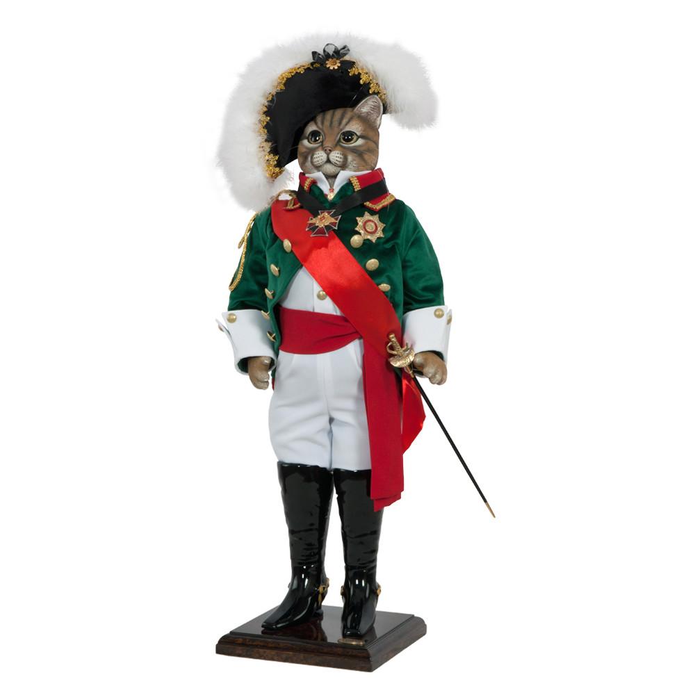 Коллекционная кукла Кот Адмирал Дункан
