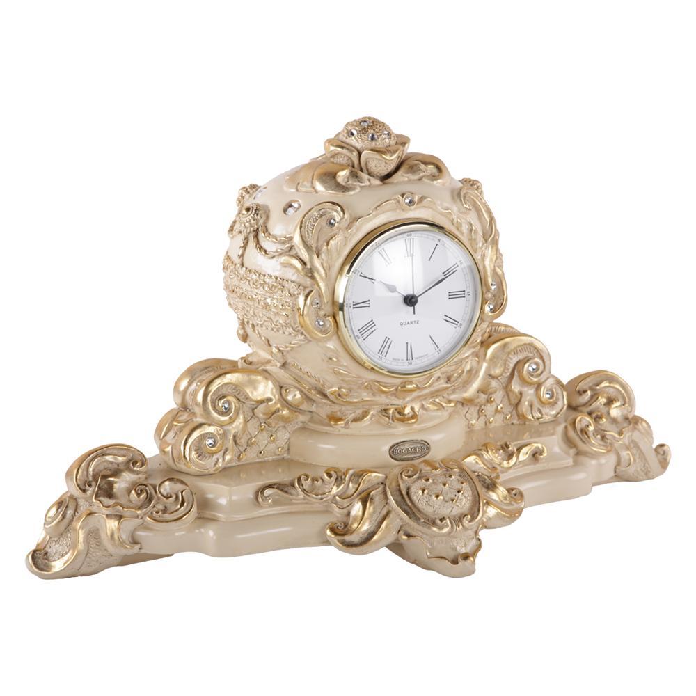 Часы настольные Райское яблоко Айвори