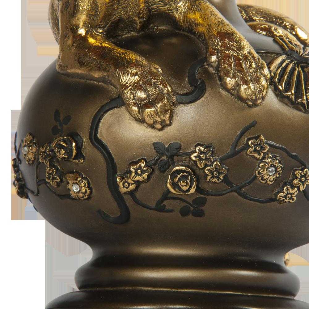 Настольная лампа Агнесса Маргарита Шоколад