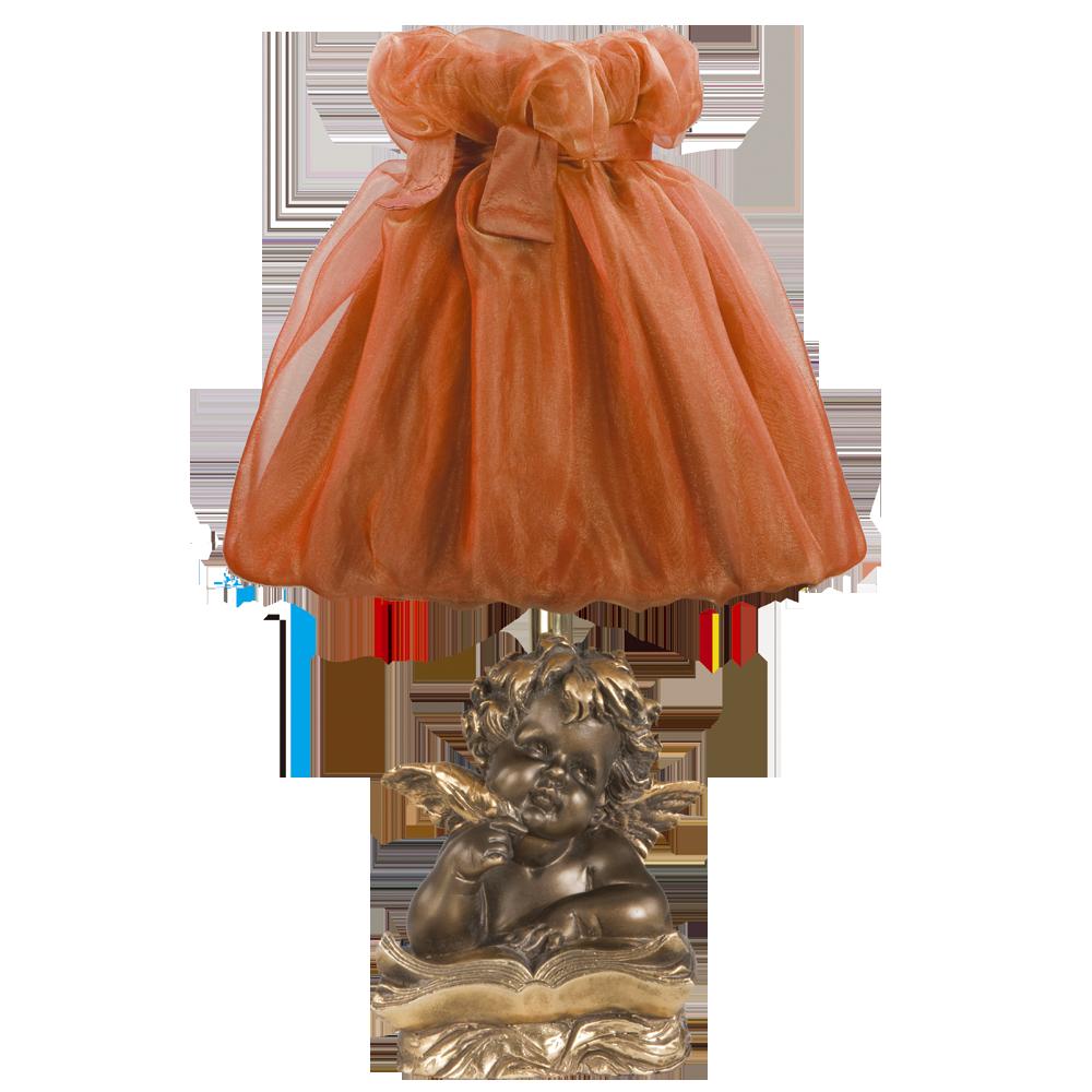 Настольная лампа Ангел Поэт Бронза Мадлен Роза