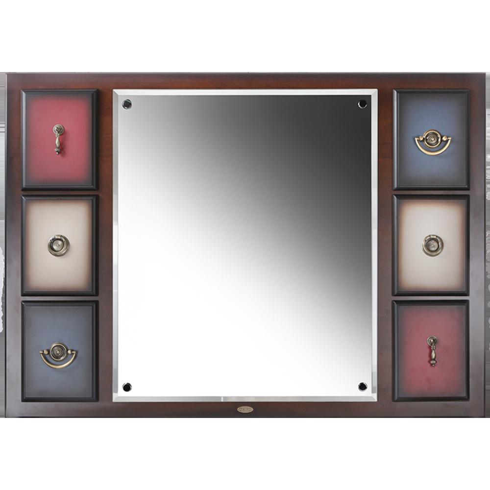 Зеркало настенное Пандора 2 Орех Mix