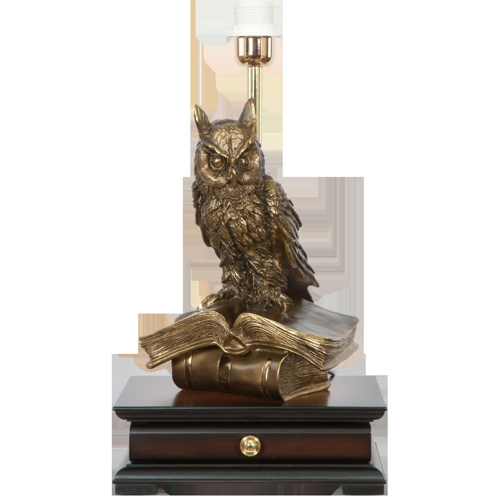 Настольная лампа с бюро Ученый Филин Шоколад