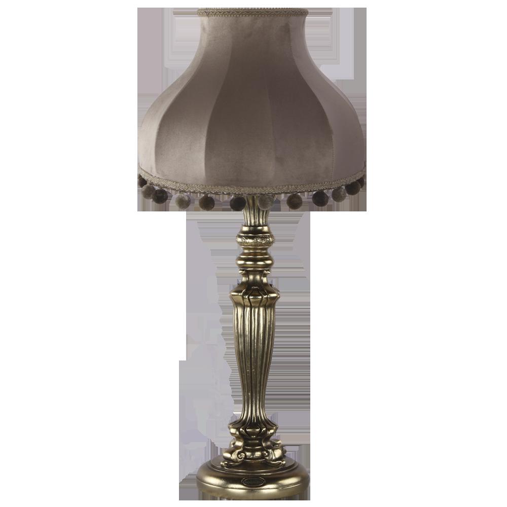 Настольная лампа Богемия Бронза Классика Капучино