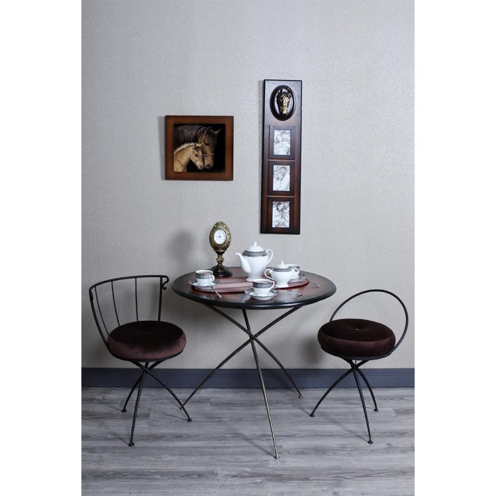 Стол обеденный Шанель 1 Шоколад Амбер