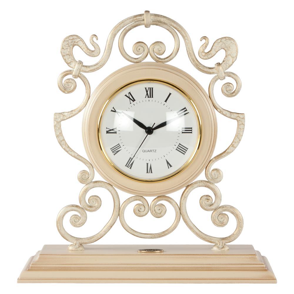 Часы настольные Аделаида Айвори