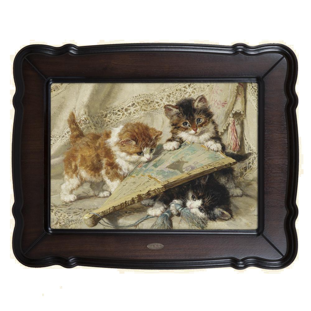Картина Котята и веер
