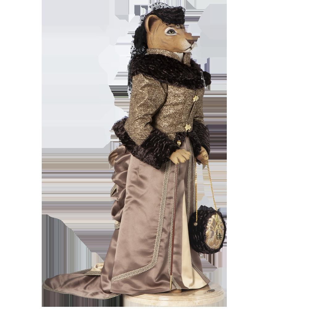 Коллекционная кукла Львица Мадам Лили