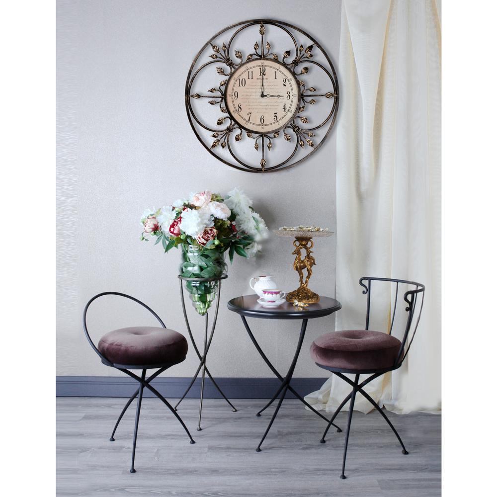 Часы настенные London Time большие Амбер