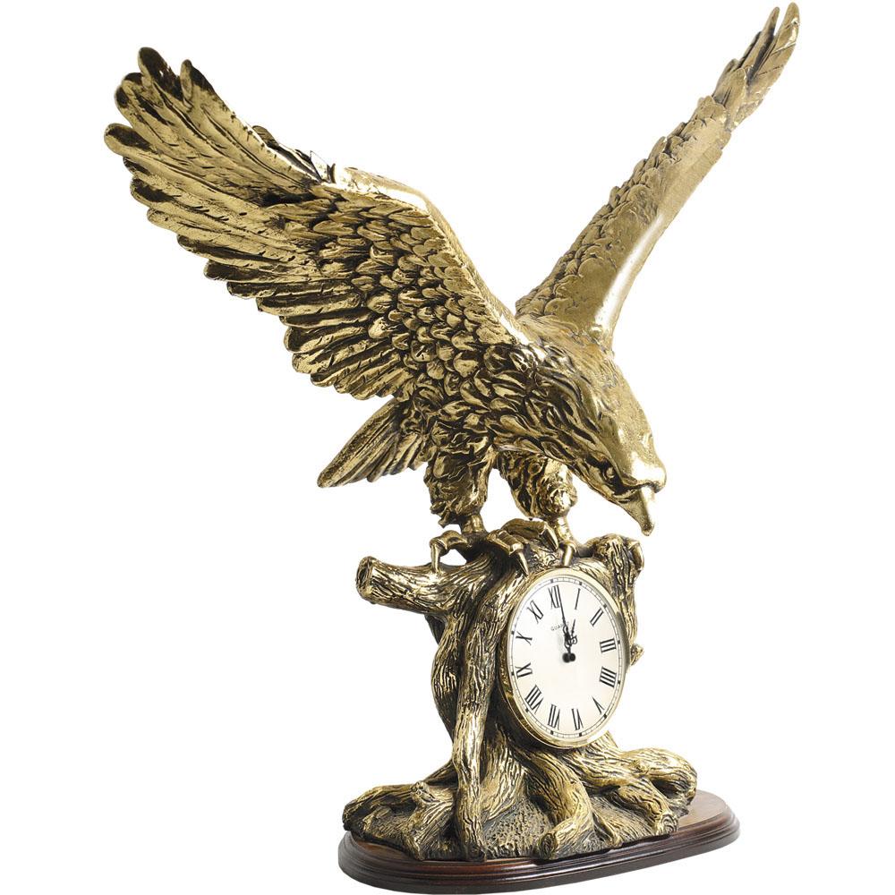 Часы настольные Орел Бронза