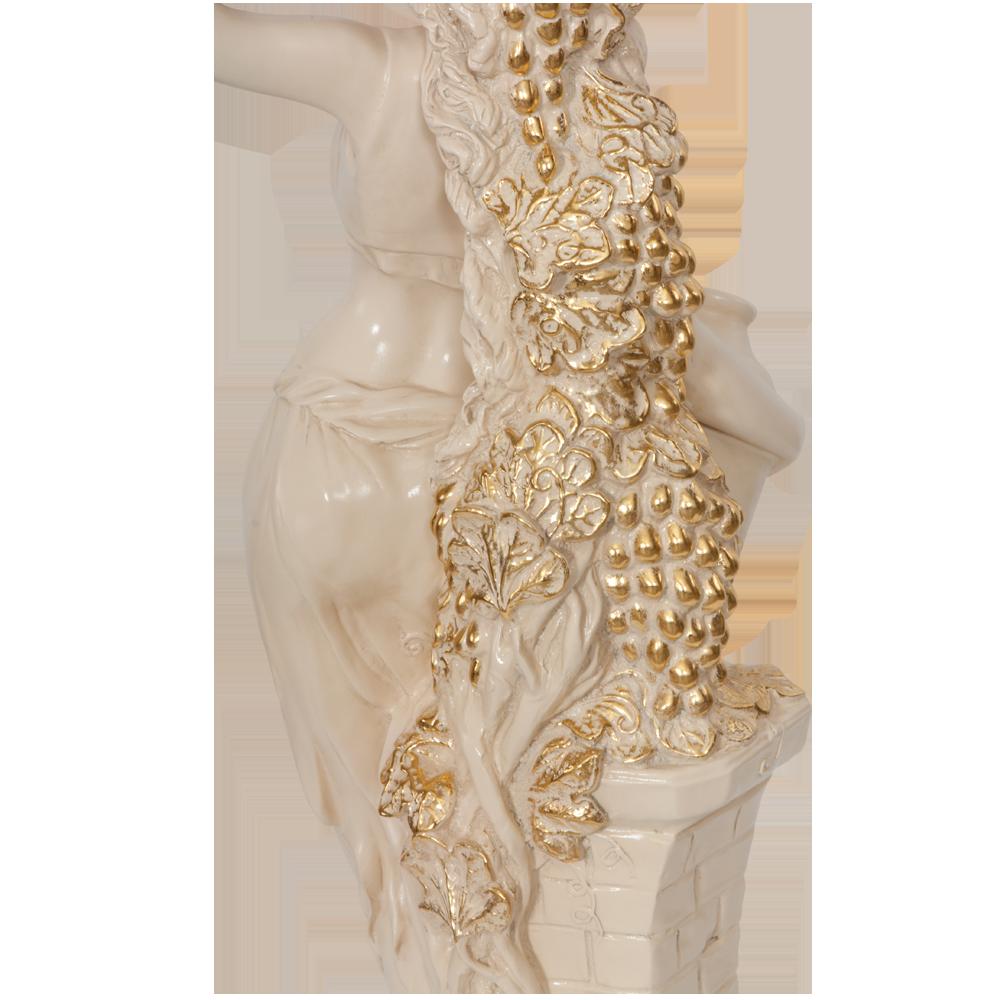 Подставка декоративная Девушка с кувшином Айвори