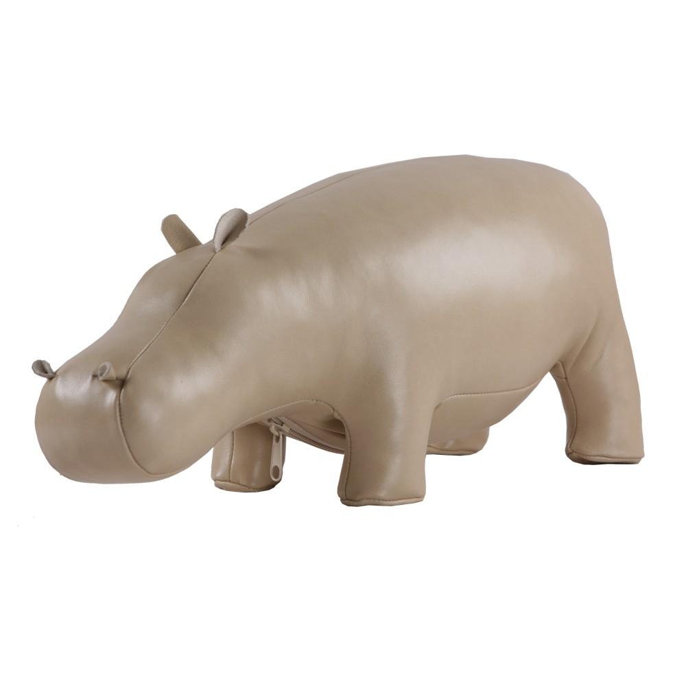 Мягкая игрушка Бегемот Жан Беж