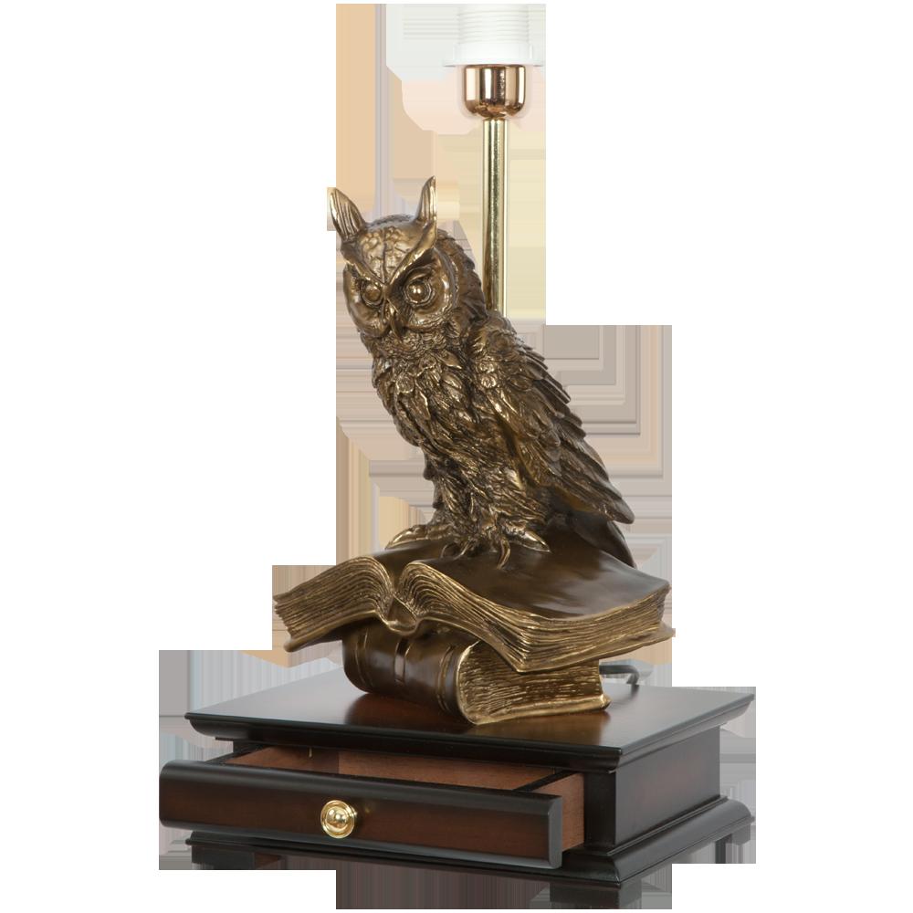 Настольная лампа с бюро Ученый Филин Тюссо Мурена