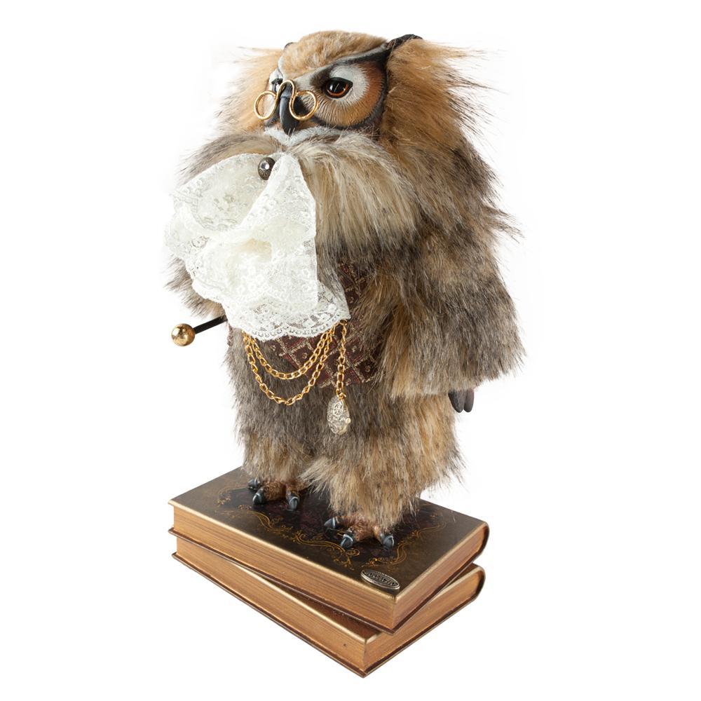 Коллекционная кукла Филин Барон Лейтон