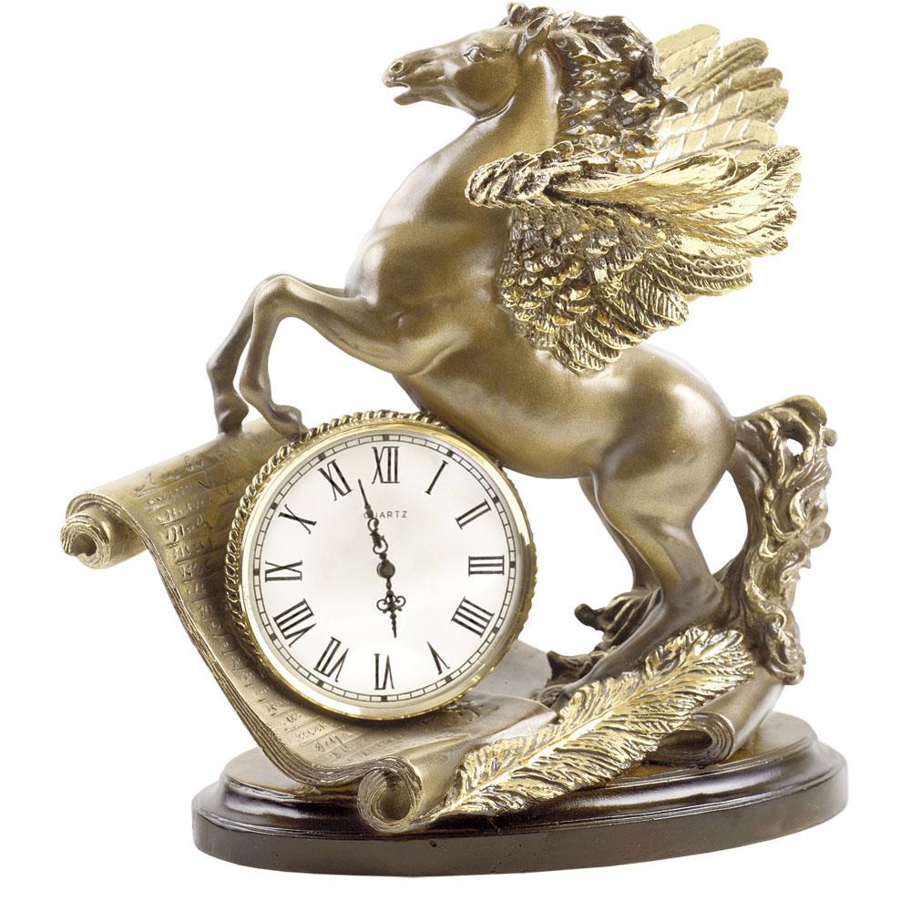 Часы настольные Пегас Бронза