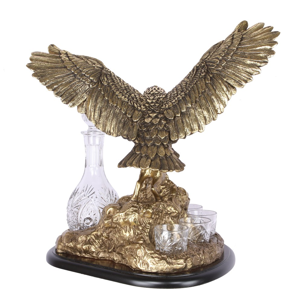 Питейный набор Поединок орла с шакалом