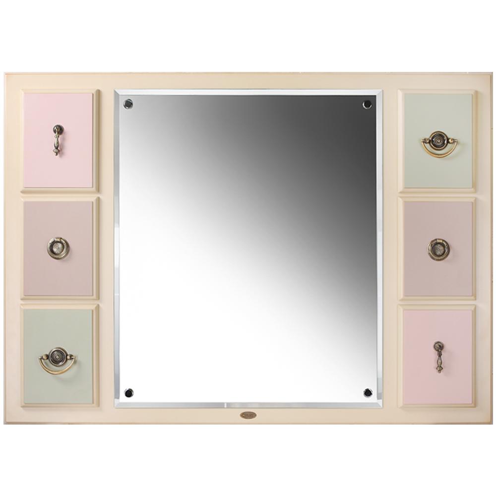 Зеркало настенное Пандора 2 Айвори Акварель
