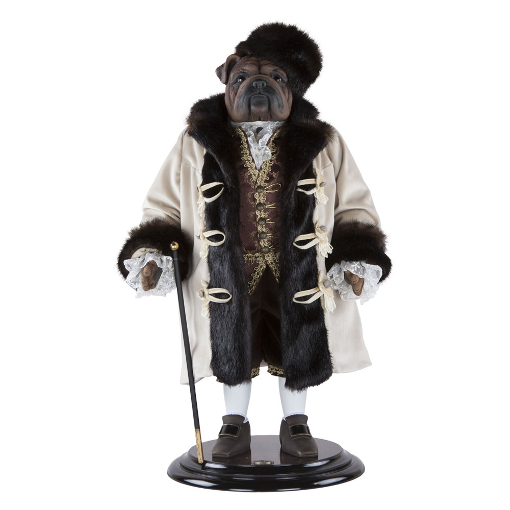 Коллекционная кукла Бульдог Граф Потемкин