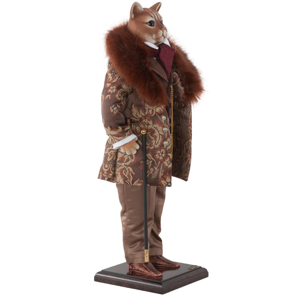 Коллекционная кукла Кот Сэр Генрих