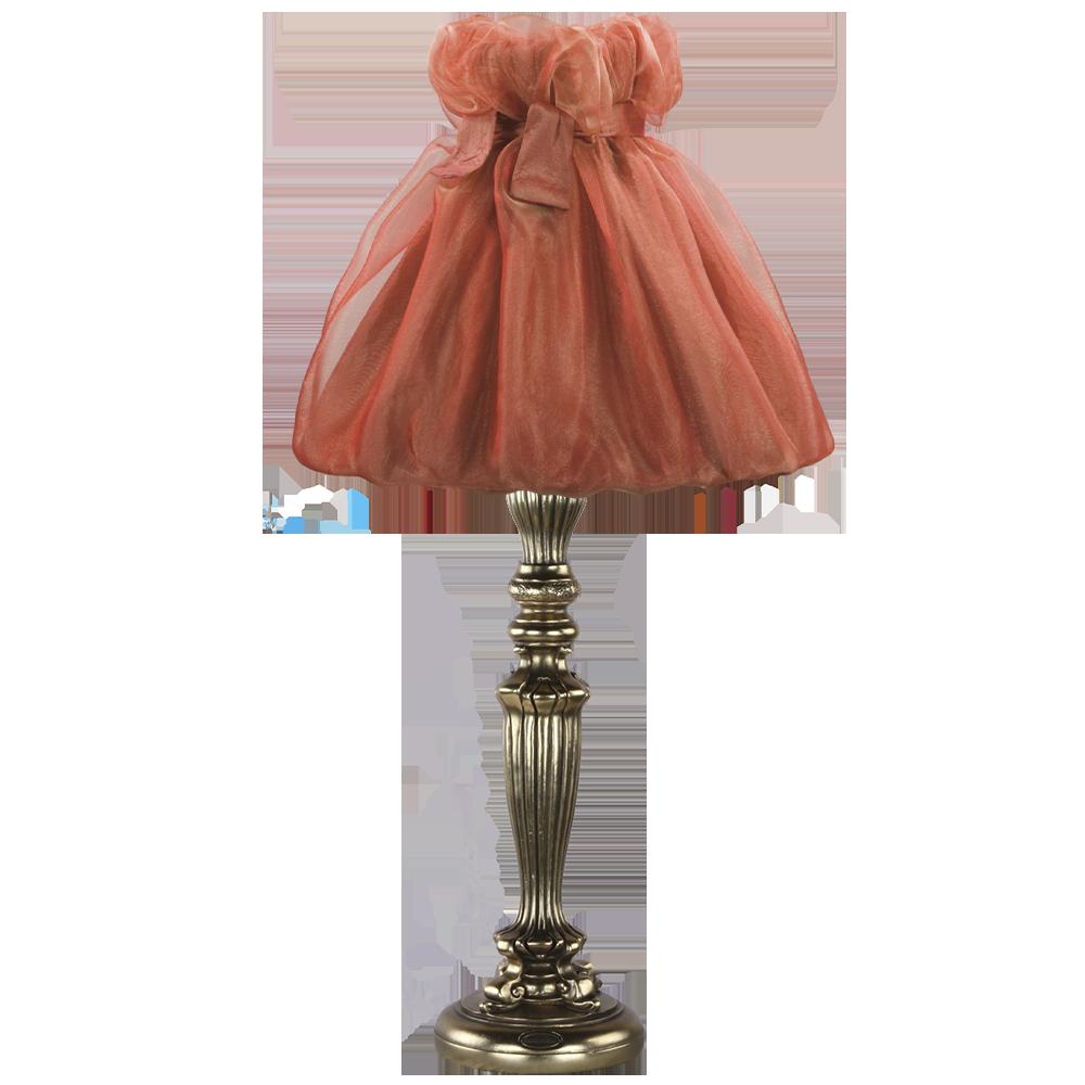 Настольная лампа Богемия Бронза Мадлен Роза