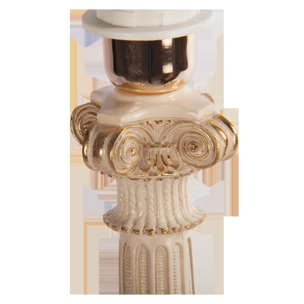 Настольная лампа Колонна Испанская Айвори Лайт Беж