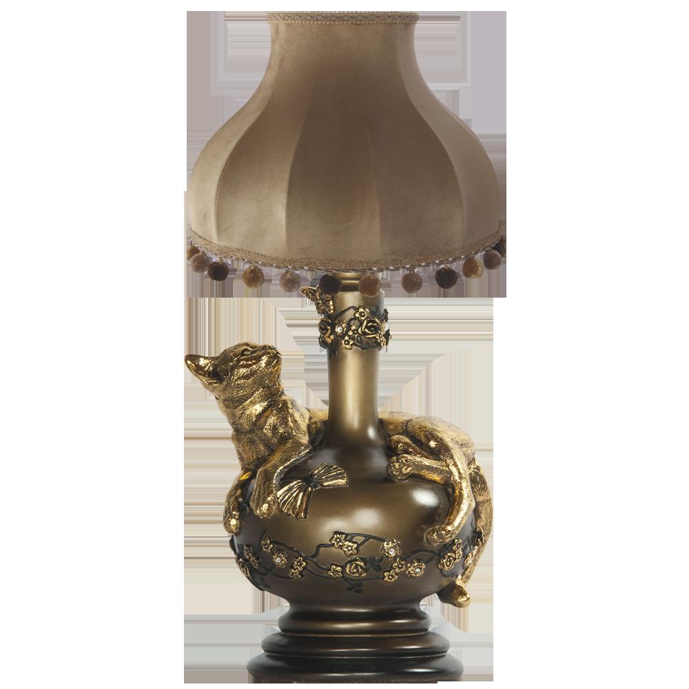 Настольная лампа Агнесса Классика Поталь