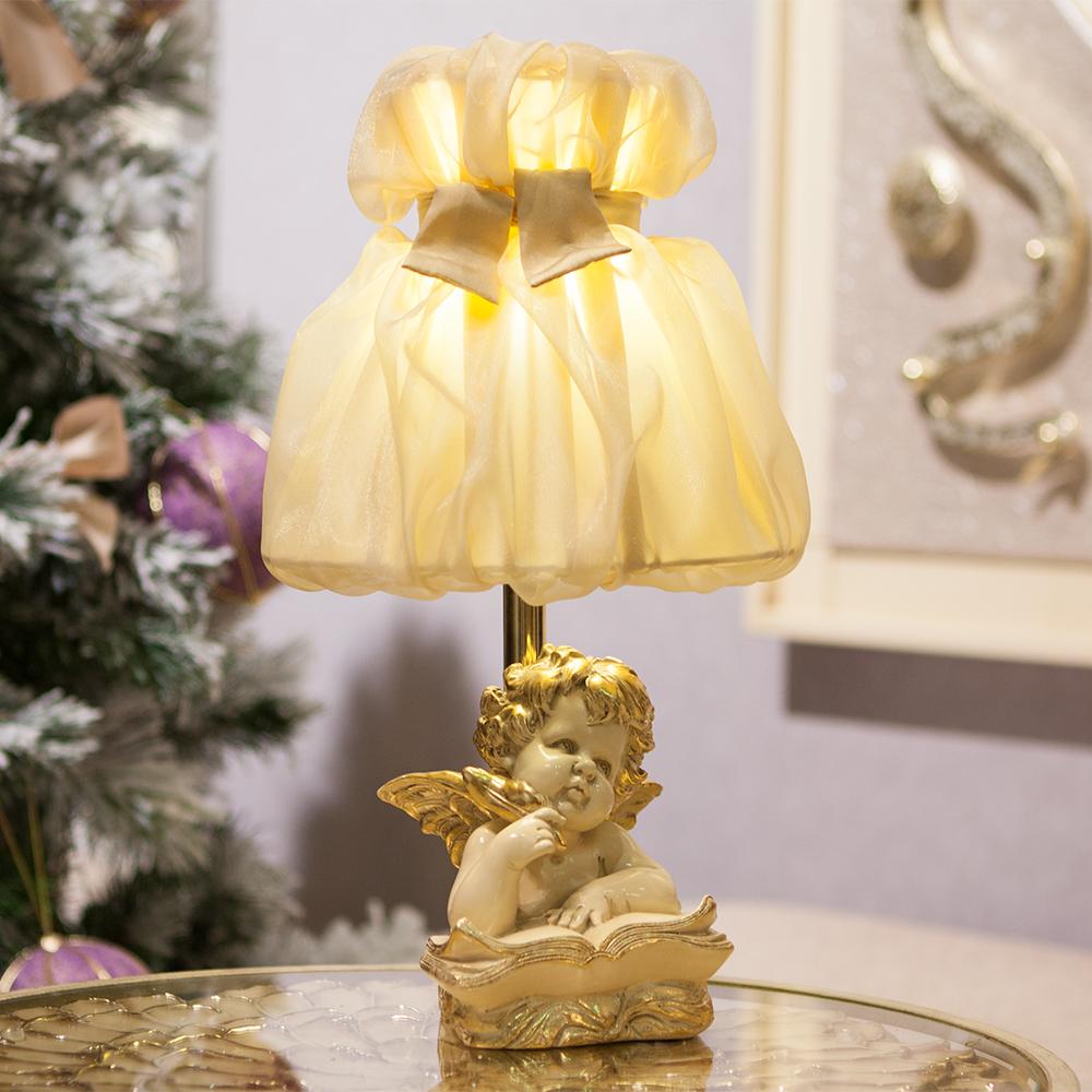 Настольная лампа Ангел Поэт Айвори Мадлен Поталь