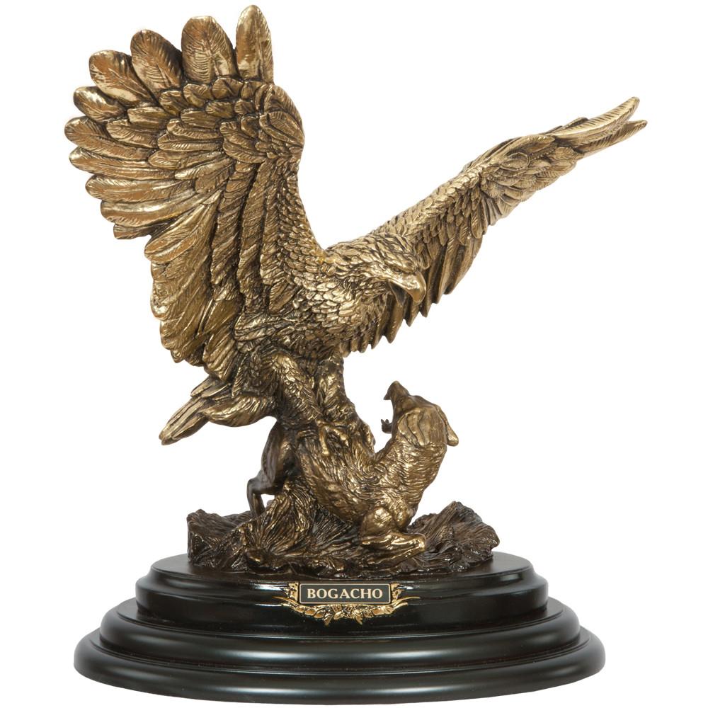 Статуэтка Поединок орла с шакалом 2 Бронза
