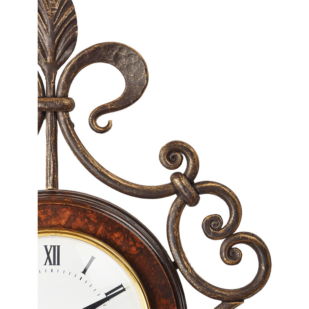 Часы настенные Ля Флер Шоколад Амбер