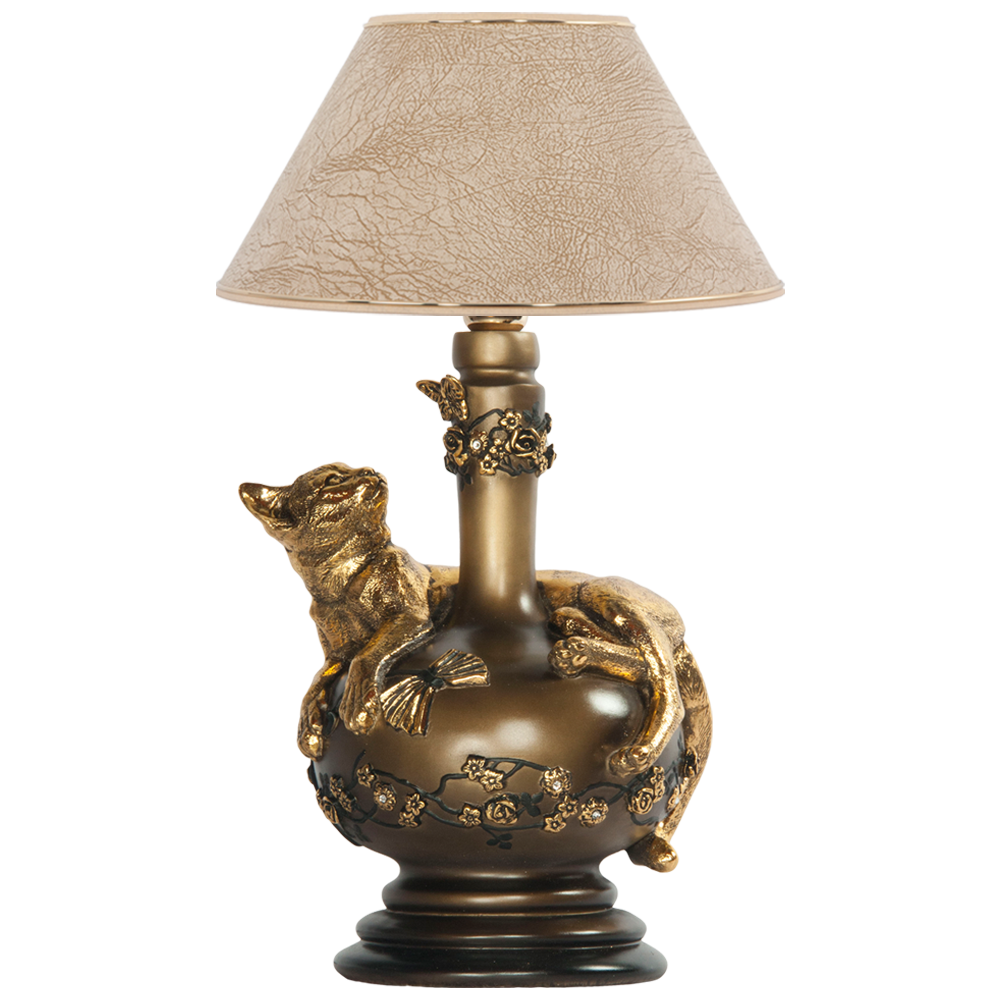 Настольная лампа Агнесса Лайт Беж