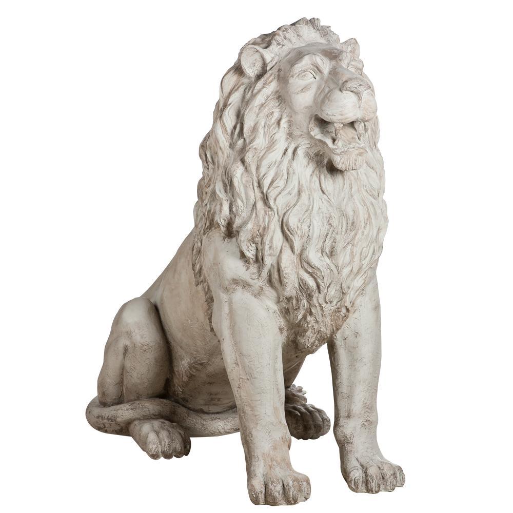 Садовая скульптура Лев Тюдор