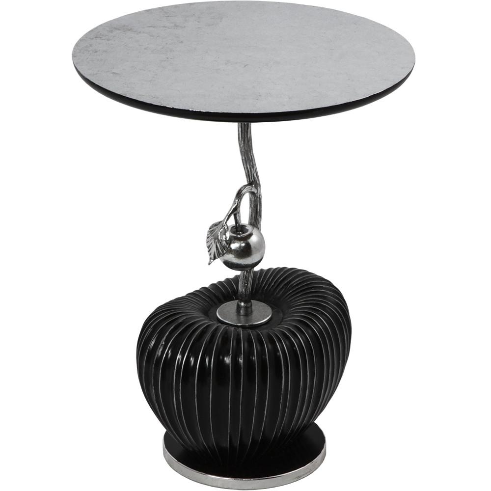 Столик декоративный Эдем  Серебро