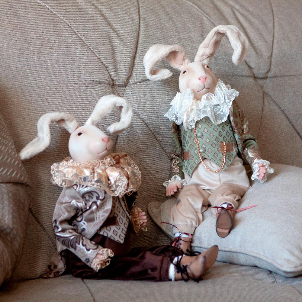 Коллекционная кукла Братец Кролик Браун