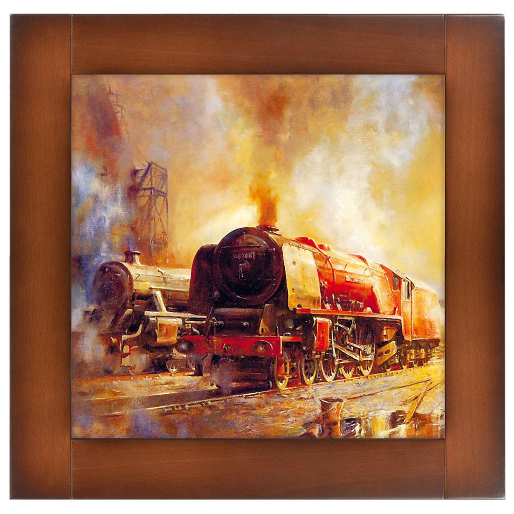 Картина Ретро Поезд-4