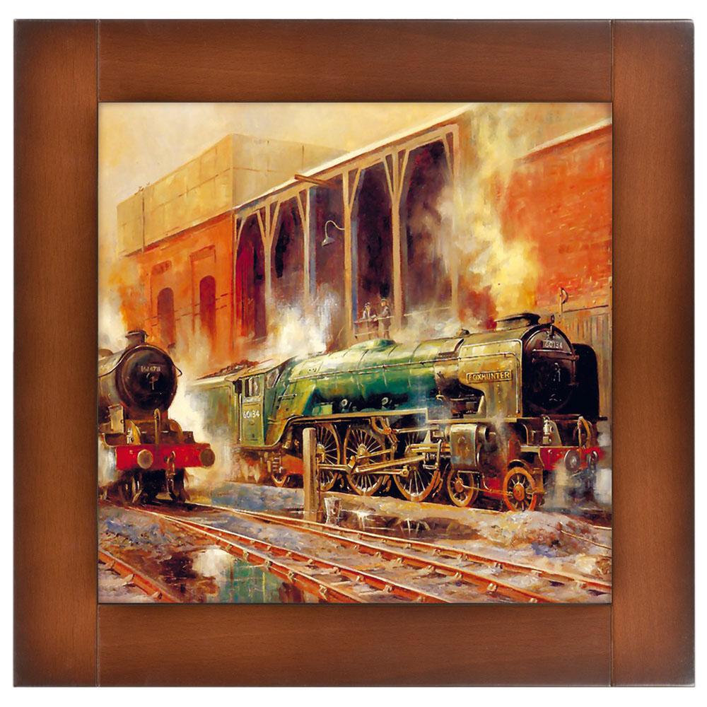 Картина Ретро Поезд-1