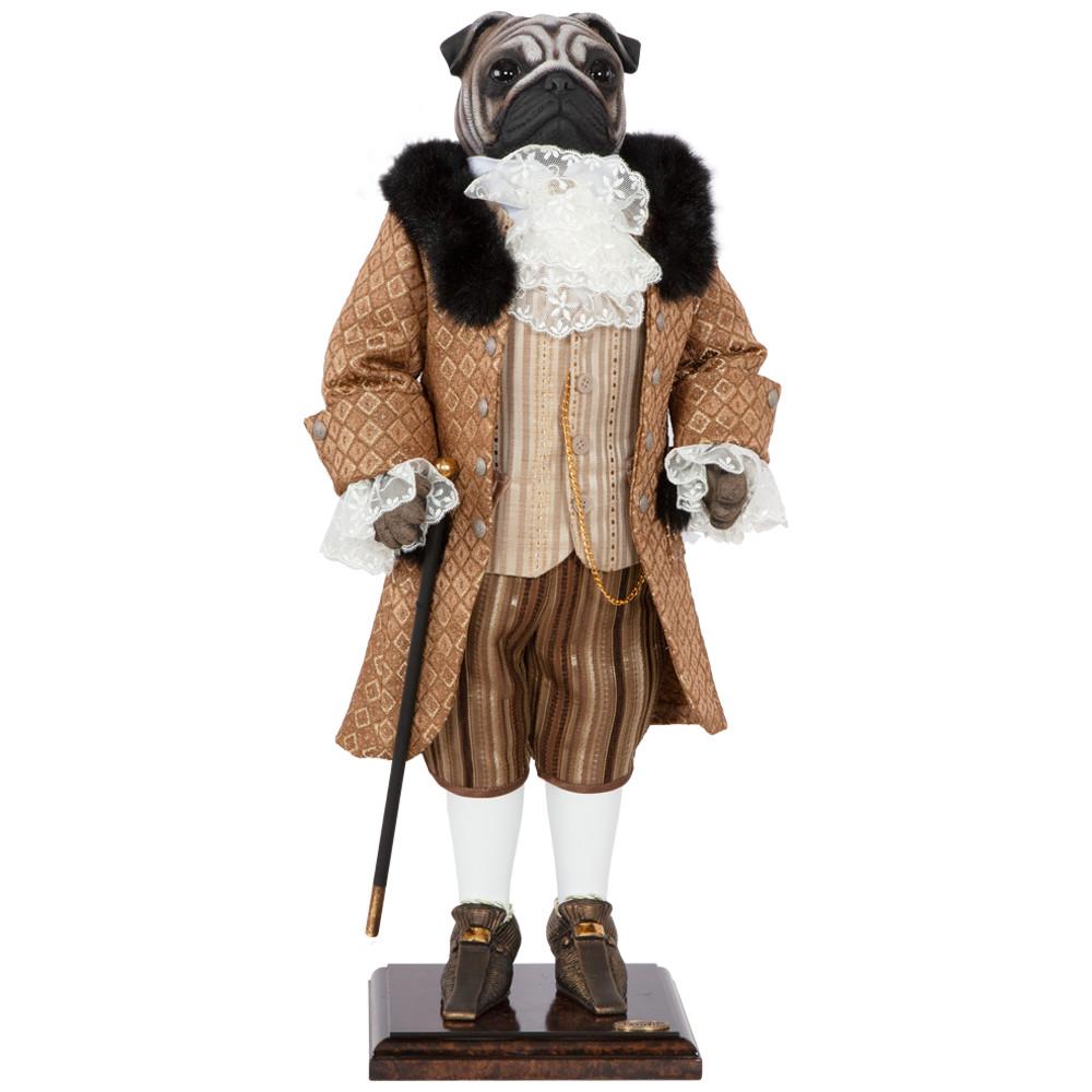 Коллекционная кукла Мопс Джеймс