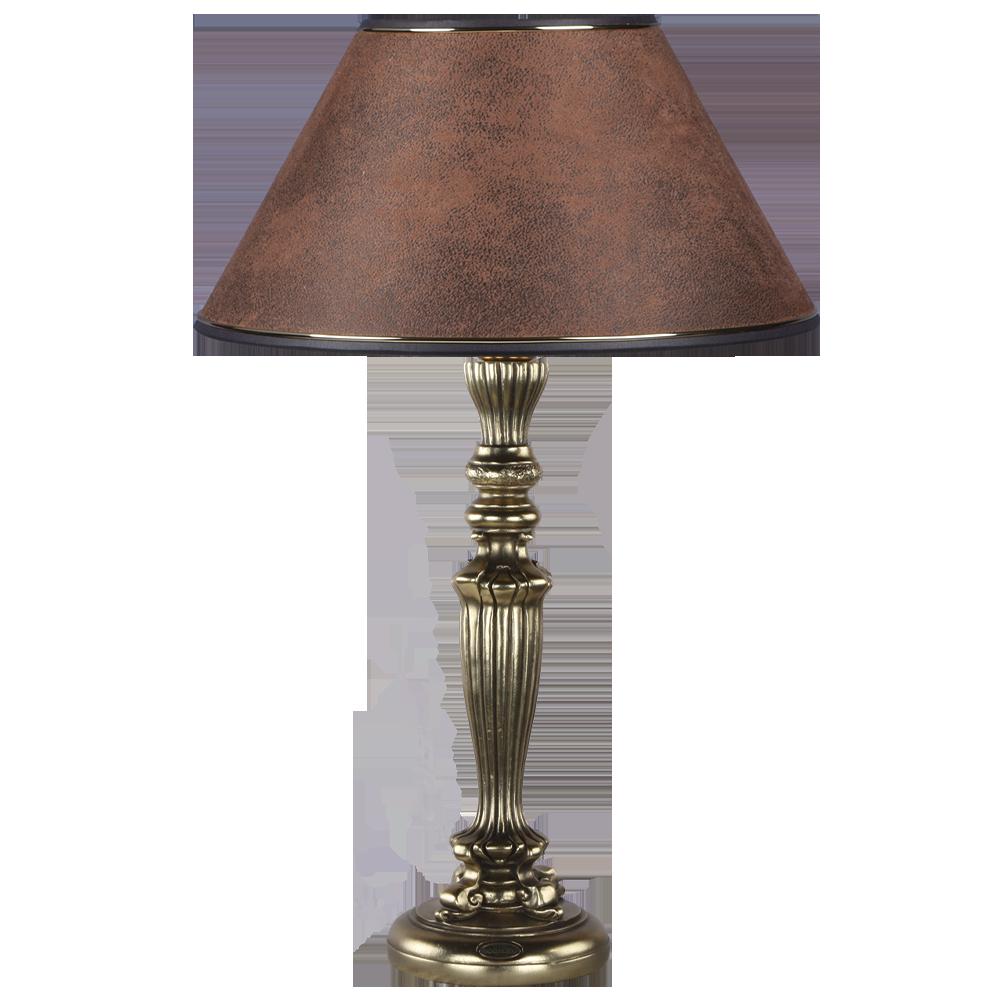 Настольная лампа Богемия Бронза Шоколад