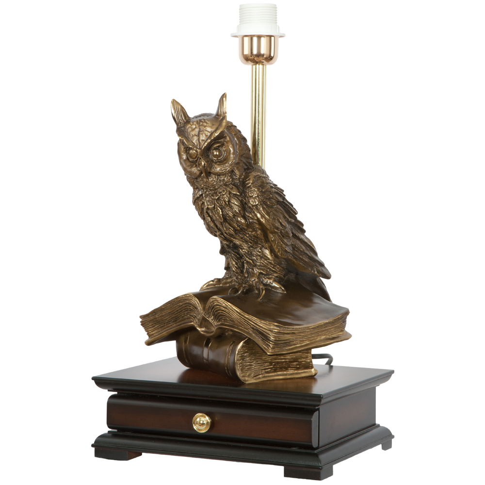 Настольная лампа с бюро Ученый Филин Лайт Беж