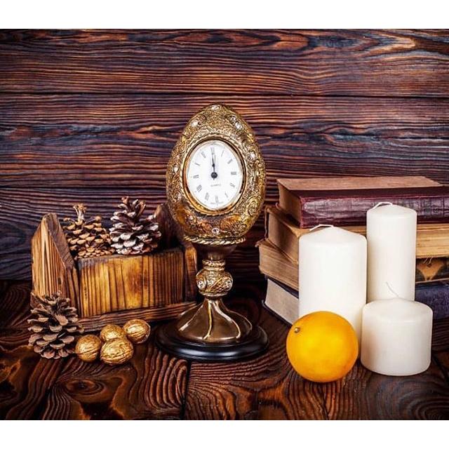 Часы настольные Наследие Фаберже Золото