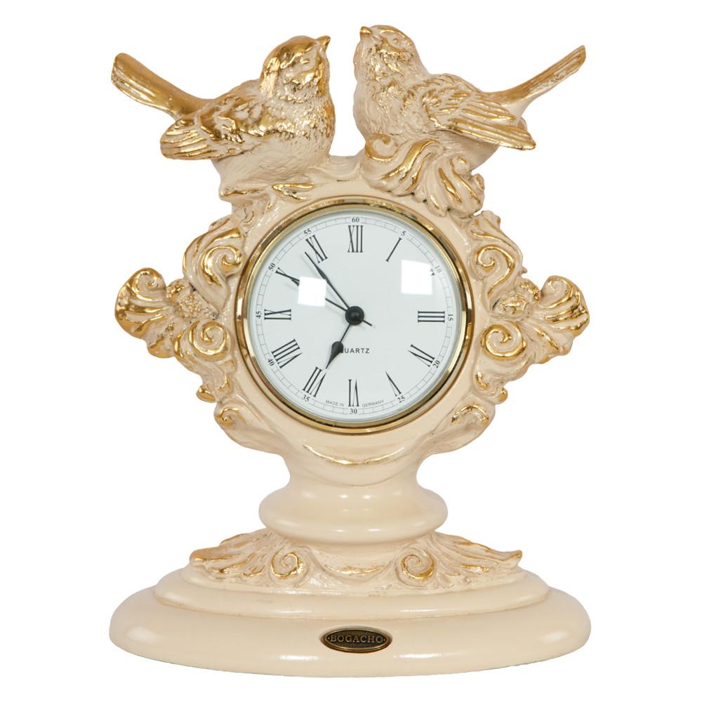 Часы настольные Нежность Айвори