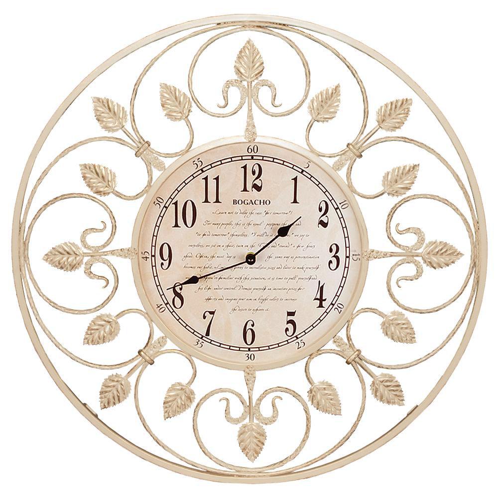 Часы настенные London Time малые Айвори