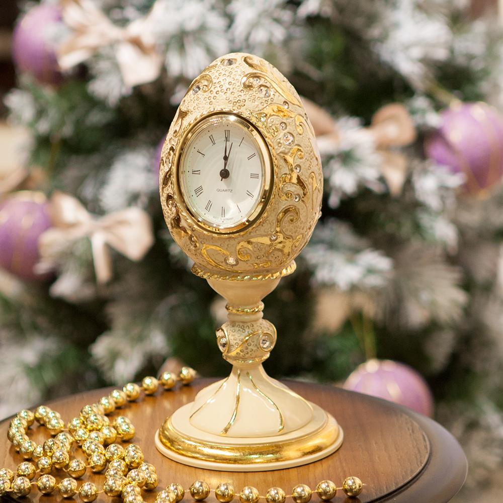 Часы настольные Наследие Фаберже Айвори