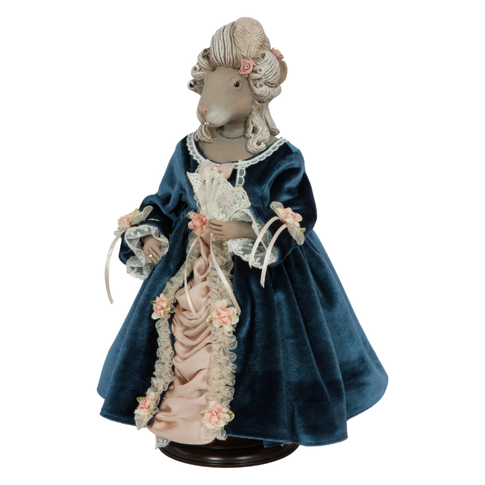 Коллекционная кукла Мышильда