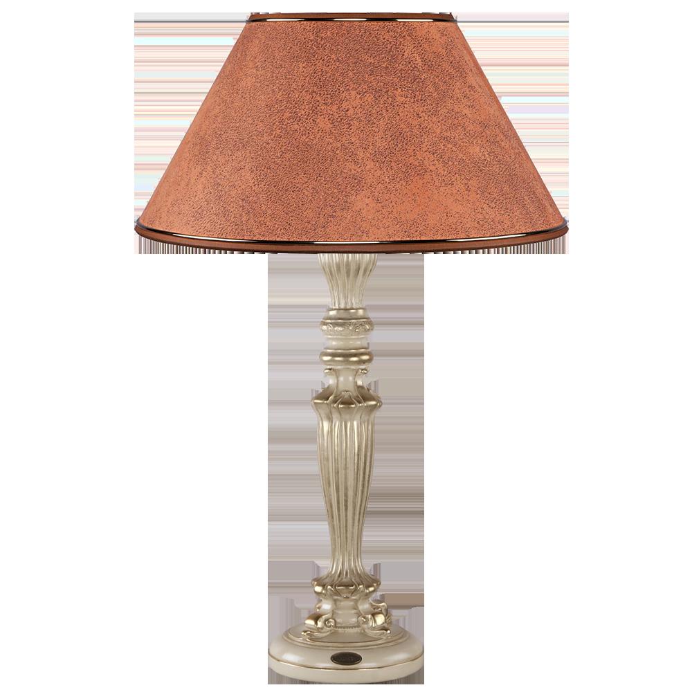 Настольная лампа Богемия Айвори Персик